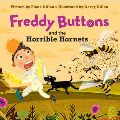 Freddy Buttons and the Horrible Hornets (book 2)