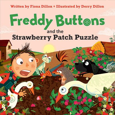Freddy Buttons and the Strawberry Patch Puzzle (book 4)
