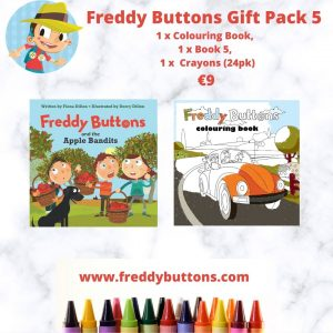 Freddy Buttons – Gift Pack 5
