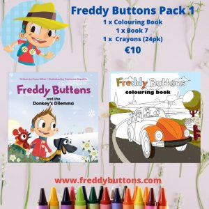 Freddy Buttons Gift Pack 1*