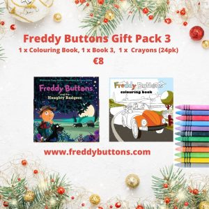 Freddy Buttons -Gift Pack 3