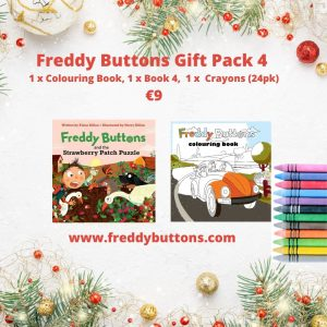 Freddy Buttons – Gift Pack 4
