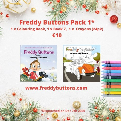 Freddy Buttons Gift Pack 1