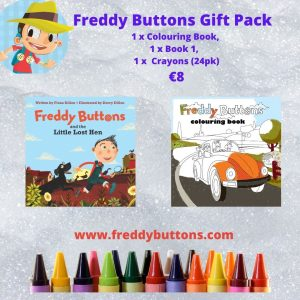 Freddy Buttons Gift Pack