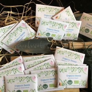 Little Green Growers  3 x Organic Seed Packets