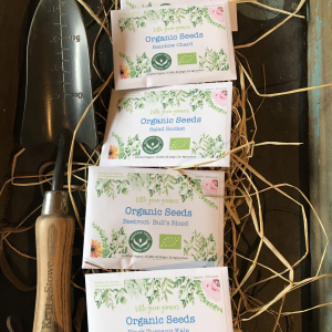 Little Green Growers 1 x Organic Seed Packet